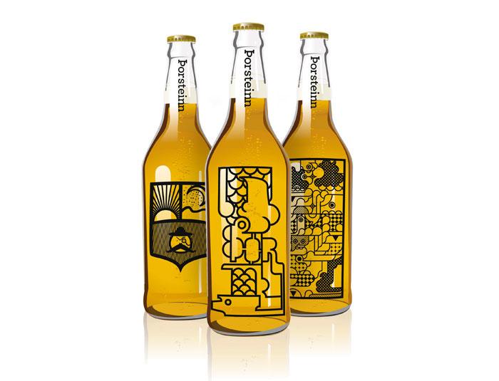 冰岛艺术学院酒瓶包装设计欣赏 - 包装盒设计,高档盒