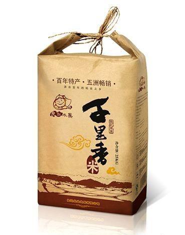 米袋包装 - 包装袋设计_包装袋设计欣赏 www.bz-e.com