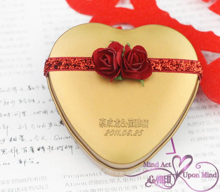 欧式 创意 铁盒 喜糖包装盒 - 包装盒设计,高档礼品盒