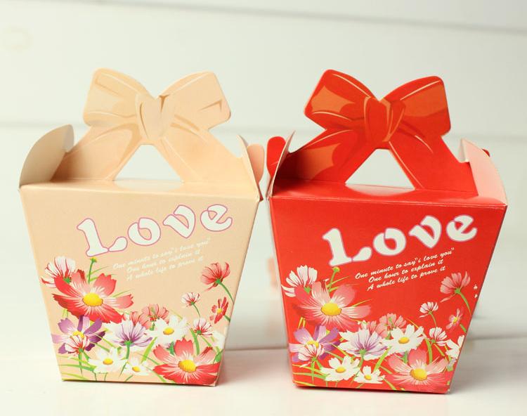 糖果创意包装盒设计图展示