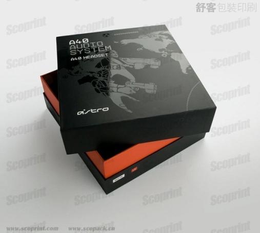 b003 电子数码礼盒包装 天地盖精品包装盒