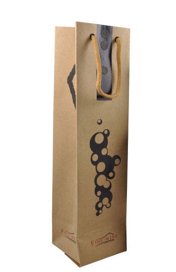 中国 销售/简约典雅无LOGO 红酒葡萄酒礼盒包装盒单支装 纸袋 2012/01/...