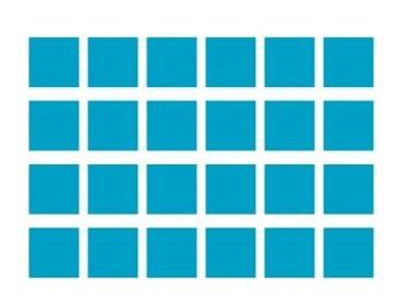 方块形状矢量图