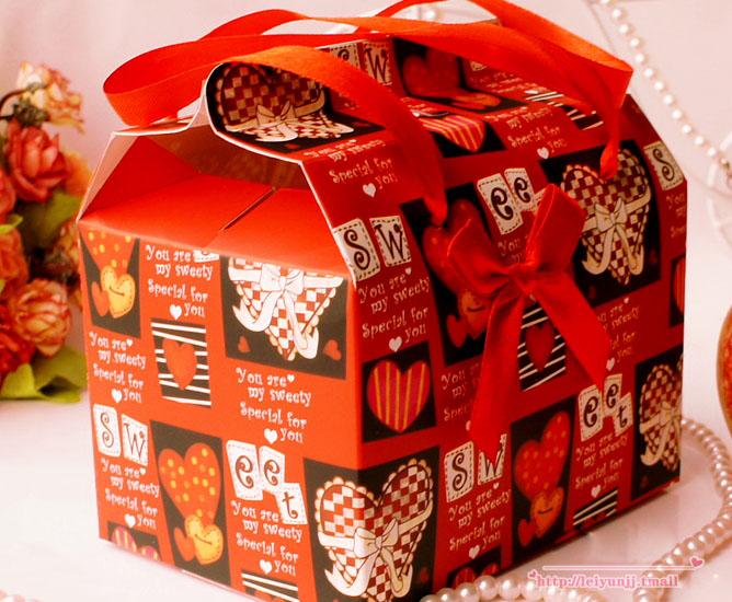 圣诞礼品盒 圣诞苹果包装盒