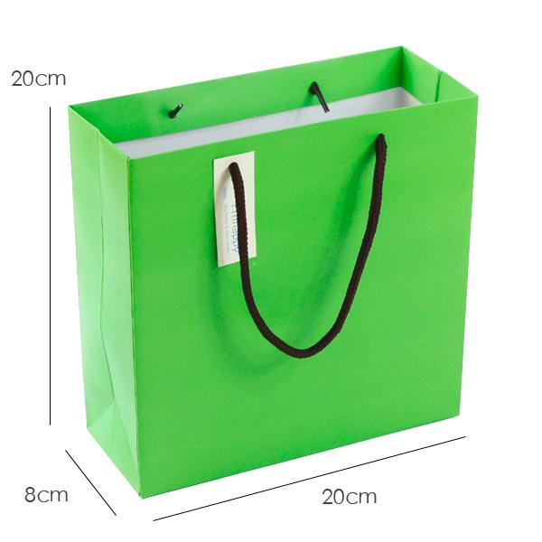 纯绿色 礼物包装袋
