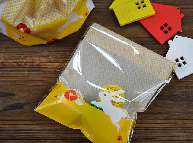 透明opp/花兔系列平口包装袋 - 包装袋设计_包装袋 .