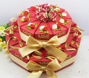 唯美 蛋糕盒/创意手工制作唯美蛋糕盒...