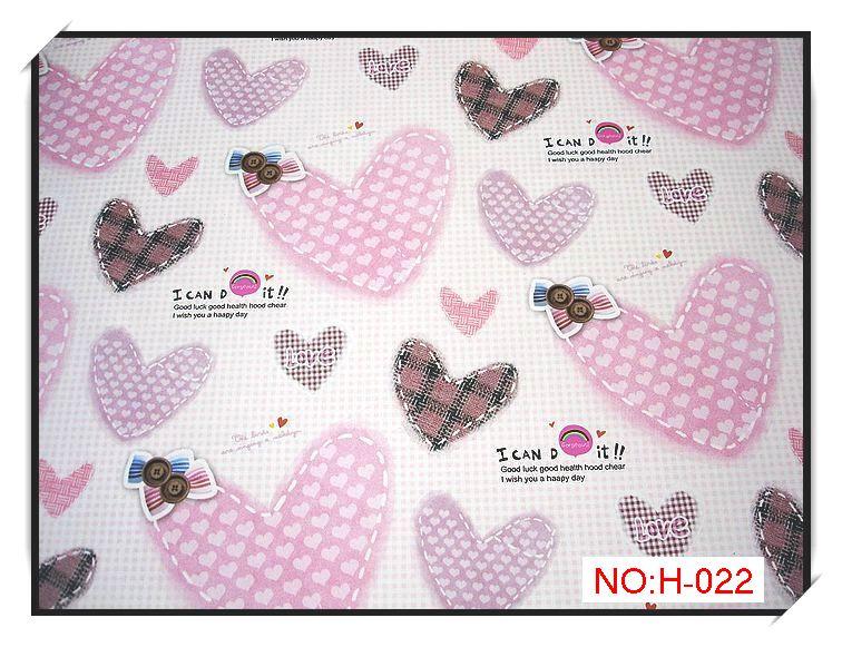 包装纸 礼品纸 包书纸 墙纸 艺术纸 爱心系 h-022