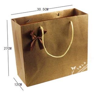 咖啡色包装袋 纸袋 礼品袋