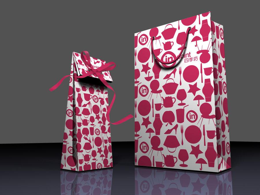 牛皮纸礼品袋矢量图__包装设计_广告设计_矢量图库