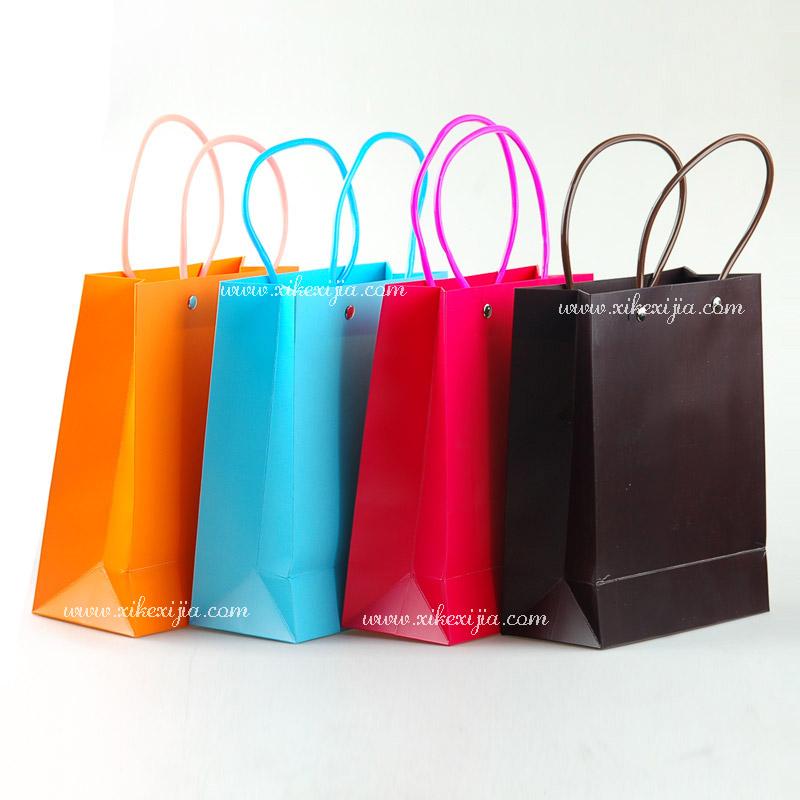 牛皮纸袋手提袋纸袋子 - 包装袋设计_包装袋设计欣赏