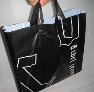 黑色手提塑料袋 包装袋 - 包装袋设计_包装袋设计欣赏