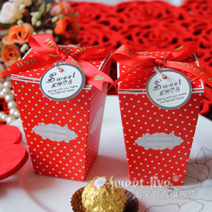 结婚喜糖盒创意喜糖袋个性喜糖包装盒图片