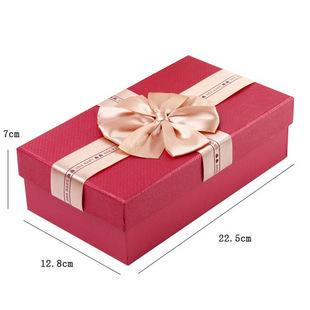 红色长方形包装盒 纸盒纸