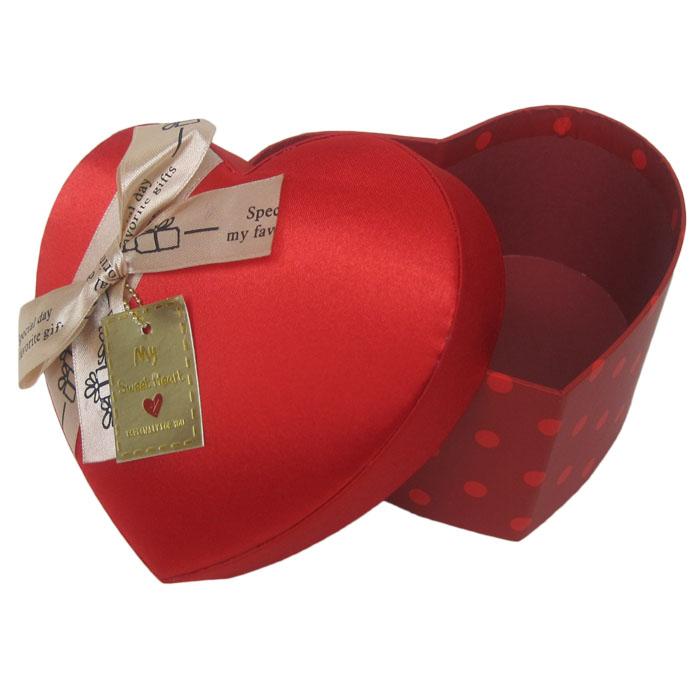 红色圈点礼品包装盒