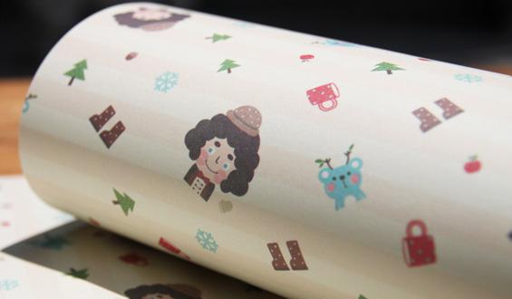 帽子男人礼物礼品包装纸