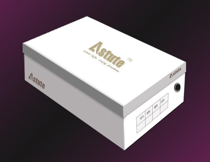简单的鞋盒设计 - 包装盒设计