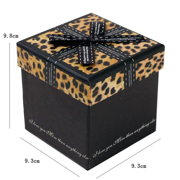 豹纹首饰包装盒 - 包装盒设计