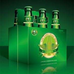 啤酒包装箱设计_产品包装设计欣赏