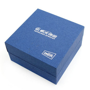 深蓝色包装礼盒_包装盒设计图