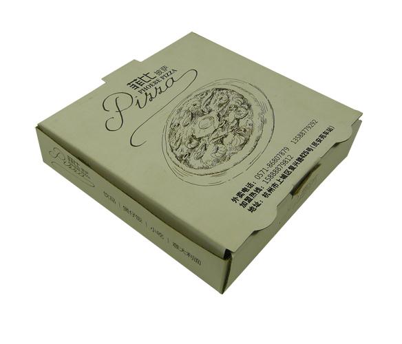 披萨盒设计_包装盒设计图