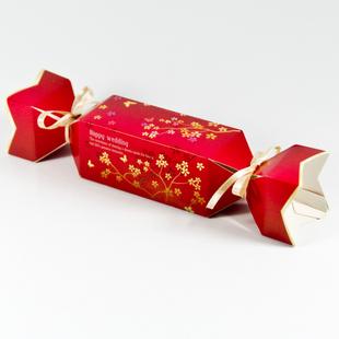 个性糖果喜糖盒 创意包装_包装盒设计图