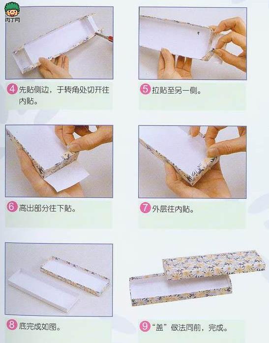 一款简单的包装盒制作方法