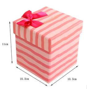 可爱小动物包装盒 粉色礼品盒