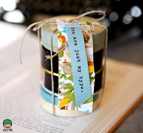 技术支持 包装技术 手工制作 手工diy打造温馨的情人节礼物包装盒