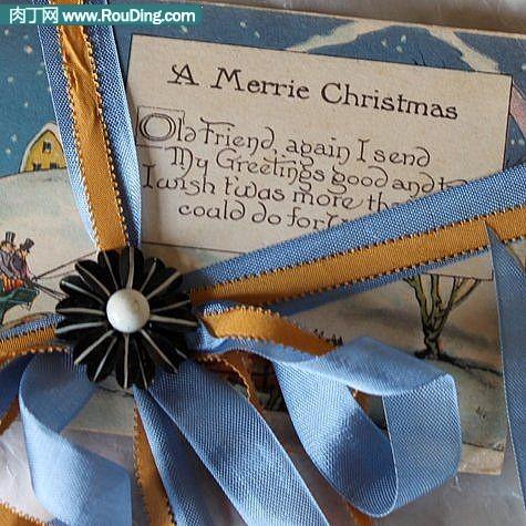 diy圣诞礼物包装设计
