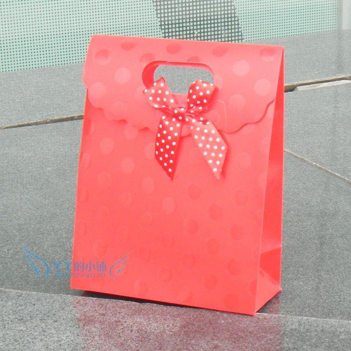 红色塑料礼品袋 手拎袋 手提袋 包装袋 - 包装袋设计