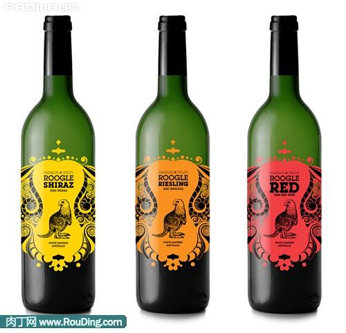 酒瓶包装设计作品欣赏