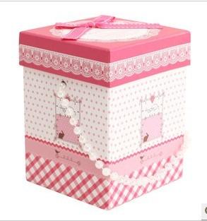 韩式精美礼品盒 时尚包装盒
