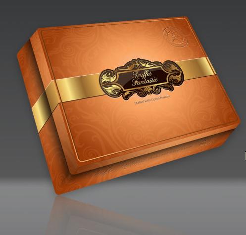 巧克力包装盒设计 - 包装盒设计