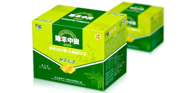 大米包装箱设计/山特产包装设计
