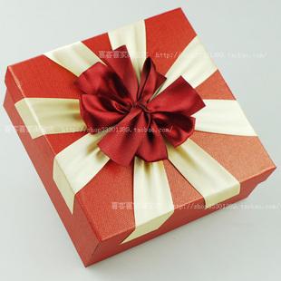 韩国时尚可爱正方形大号礼品盒