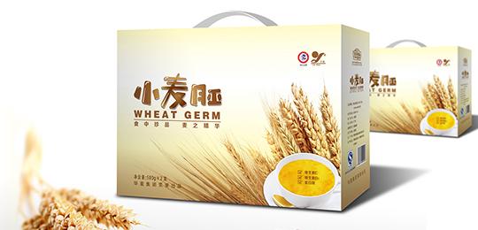 小麦胚食品包装箱设计欣赏