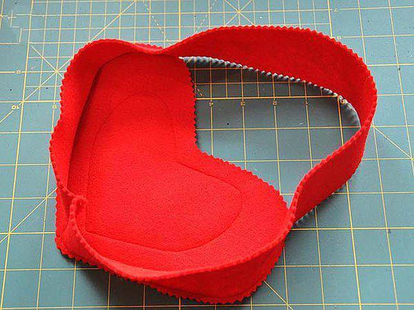 包装制作之情人礼物手工礼物袋方法
