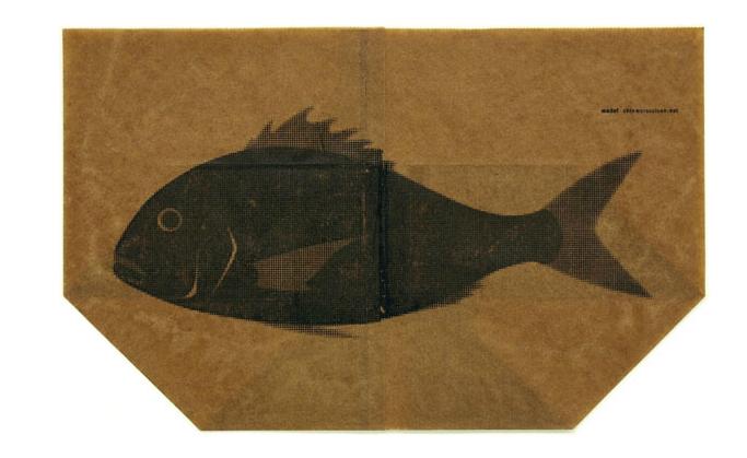 """国外包装设计欣赏系列——日本设计师的""""鱼袋""""设计"""