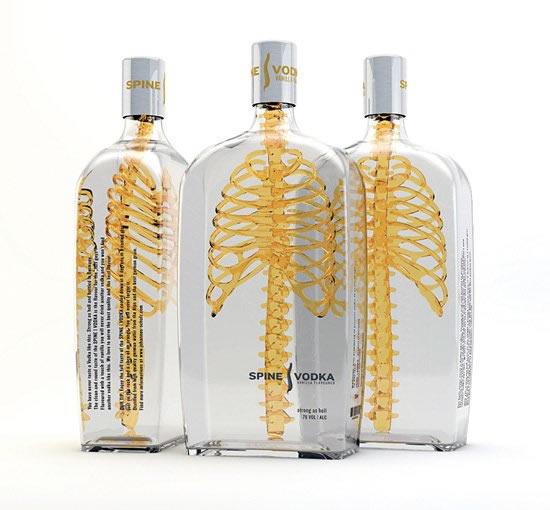 伏特加 酒瓶包装设计