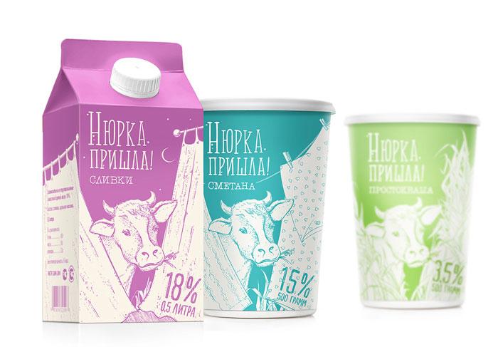 国外牛奶包装欣赏 - 食品包装_食品包装设计 - www.bz