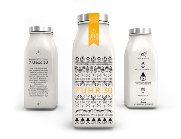 牛奶包装设计欣赏 - 食品包装_食品包装设计 - www.bz