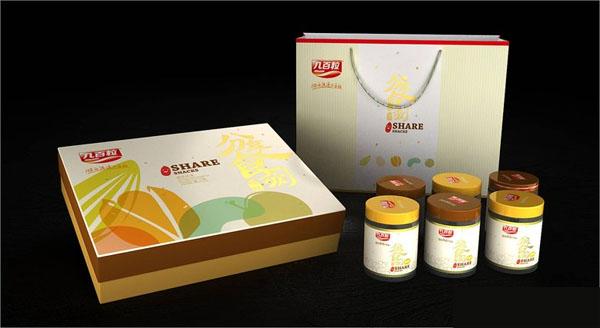 五谷雜糧堅果包裝設計
