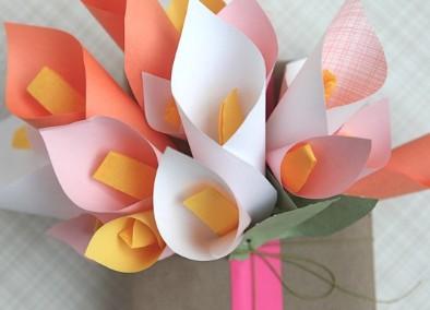 手工小花礼品创意包装盒制作图片