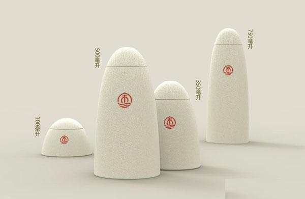 《隐山》中国白酒创意包装设计图片