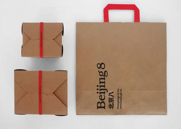 """""""北京八""""食品包装设计"""
