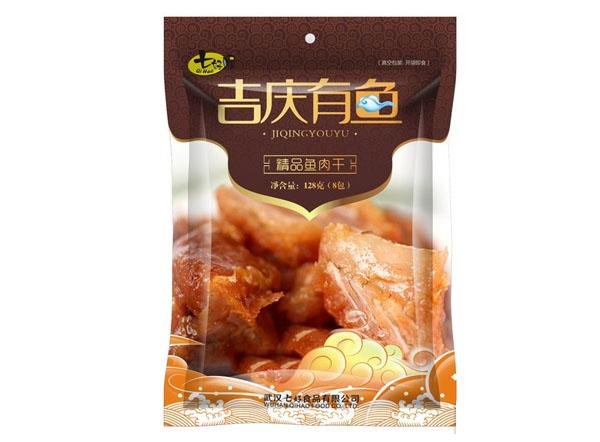 """春节礼包""""吉庆有鱼""""包装设计"""