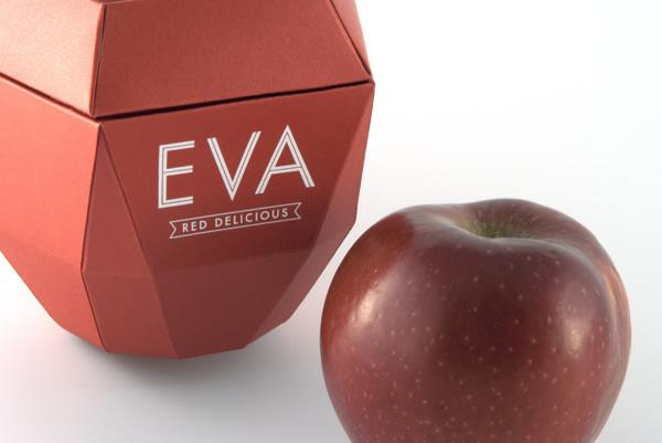 eva红苹果造型包装设计