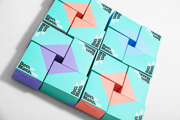 doctor manzana电子产品包装设计