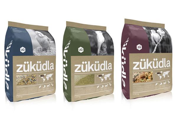 züküdla动物饲料包装袋设计